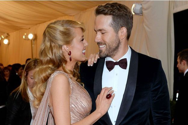 Blake Lively et Ryan Reynolds au gala du Metropolitan Museum de New York, le 5 mai 2014