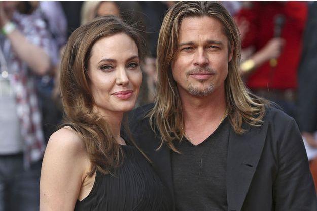 Brad Pitt et Angelina Jolie en 2013.