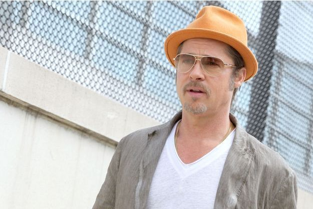 Brad Pitt à New York, le 31 août 2014.