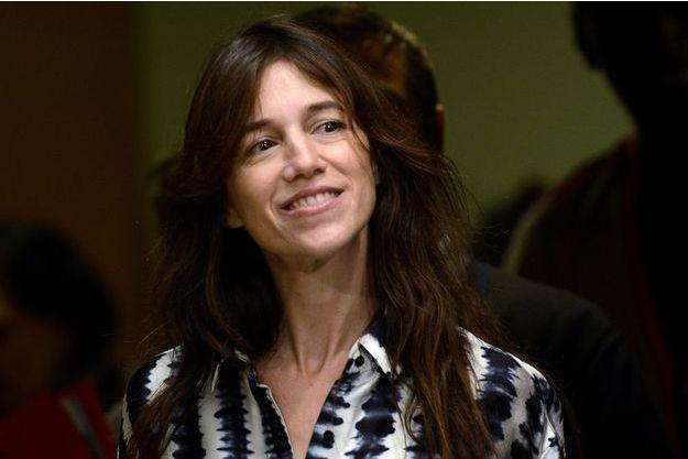 Charlotte Gainsbourg à San Sebastian en septembre dernier.