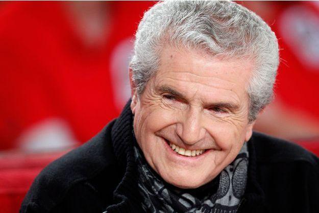 """Le réalisateur Claude Lelouch à l'enregistrement de l'émission """"Vivement Dimanche"""" (France 2) le 25 novembre dernier."""