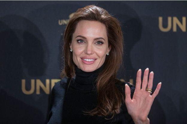 Angelina Jolie à Berlin, le 27 novembre 2014