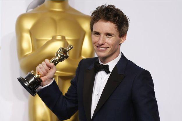 """Eddie Redmayne, Oscar du meilleur acteur pour """"Une merveilleuse histoire du temps"""""""