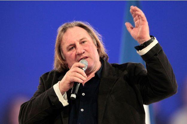 Gérard Depardieu en mars 2012.