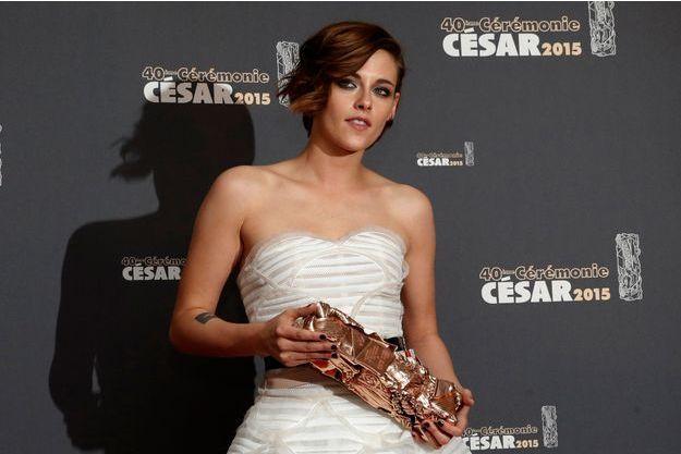Kristen Stewart aux Césars 2015 le 20 février dernier