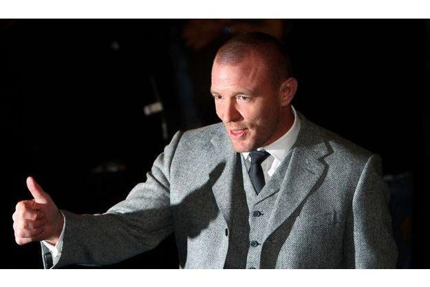 Le réalisateur, lors de la première de «Sherlock Holmes».