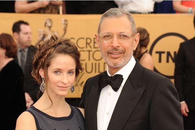 Emilie Livingston et Jeff Goldblum à Los Angeles, le 25 janvier dernier