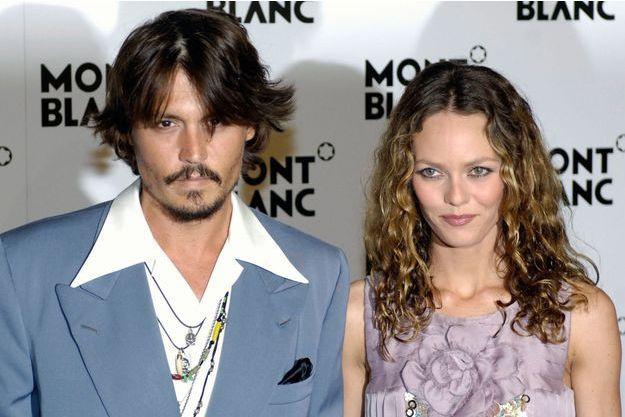 Johnny Depp et Vanessa Paradis en 2006.