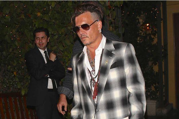 Johnny Depp le 1er juillet à Los Angeles.