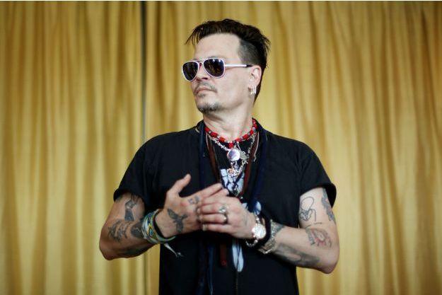 Johnny Depp à Lisbonne, mai 2016