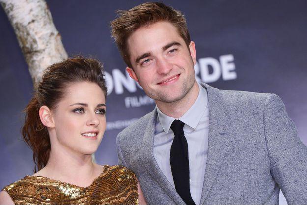 Kristen Stewart et Robert Pattinson en 2012.