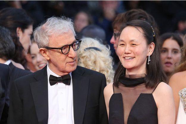Woody Allen et son épouse au Festival de Cannes, le 15 mai dernier