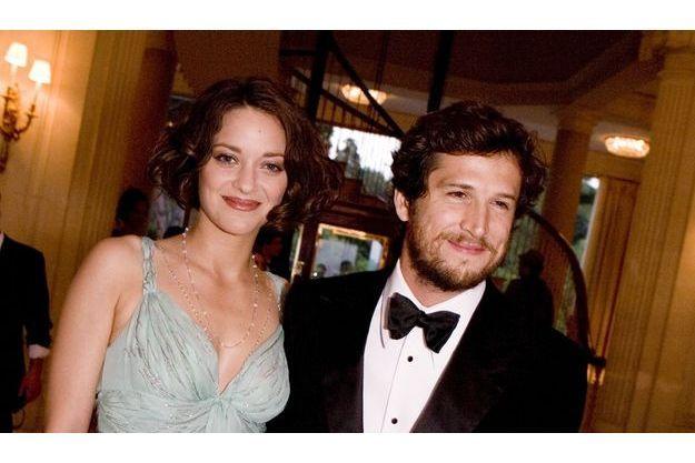 Guillaume Canet et Marion Cotillard à l'hôtel du Cap Eden Roc d'Antibes pour le gala de l'Amfar en mai 2009.