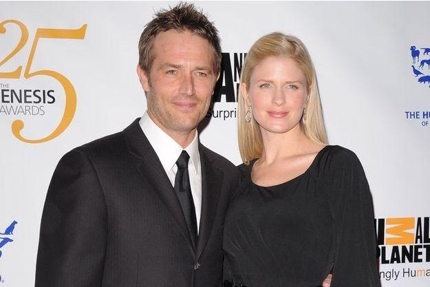 Michael Vartan et Lauren Skaar, en mars 2011.