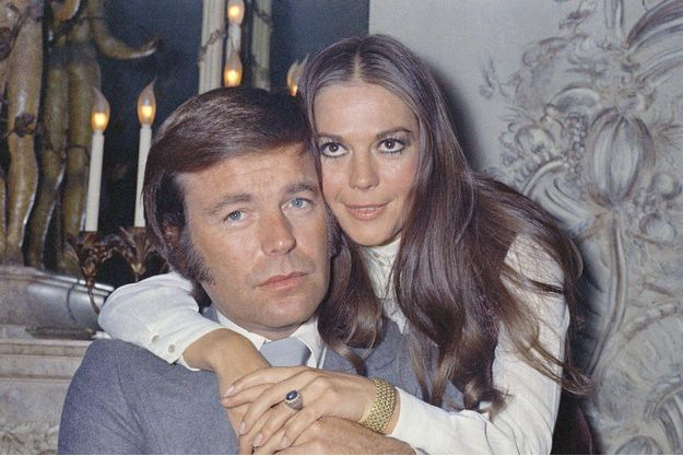 Robert Wagner et Natalie Wood en avril 1972.