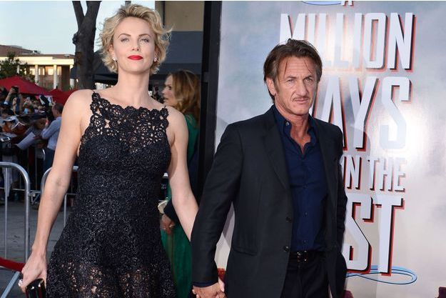 Charlize Theron et Sean Penn à Los Angeles en mai 2014