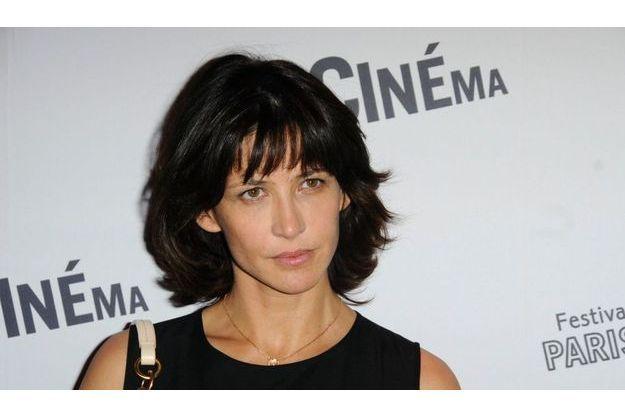 Sophie Marceau au Festival de Cinéma de Paris.