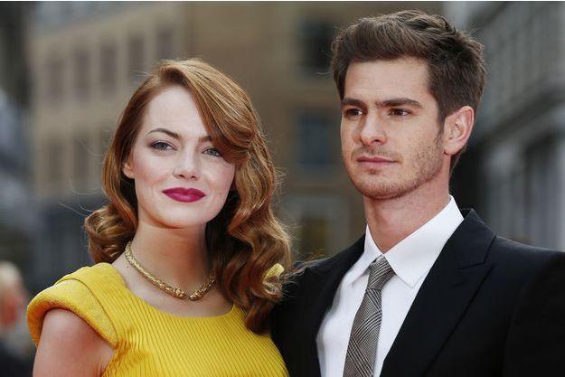 Le couple à Londres en avril 2014