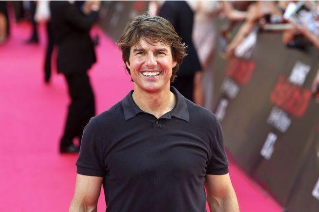 """Tom Cruise à l'avant-première de """"Mission Impossible : Rogue Nation"""" le 3 août dernier à Tokyo."""
