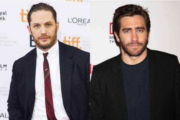 """Jake Gyllenhaal (à dr.) pourrait remplacer Tom Hardy au casting du film """"Suicide Squad"""""""
