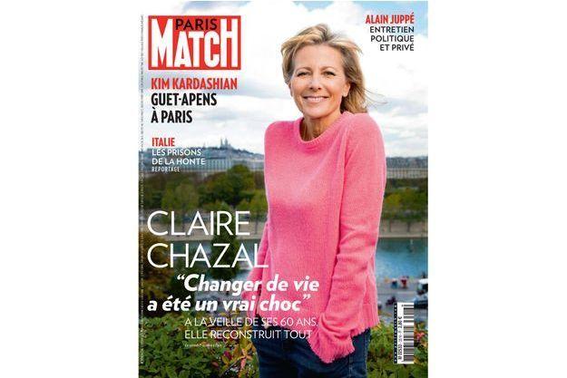 Claire Chazal en une de Paris Match