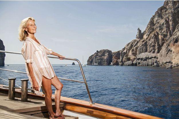 Claire Chazal mène sa barque