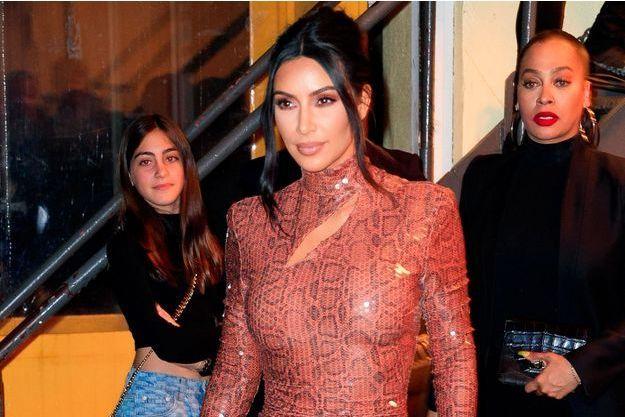 Kim Kardashian à New York en février dernier.