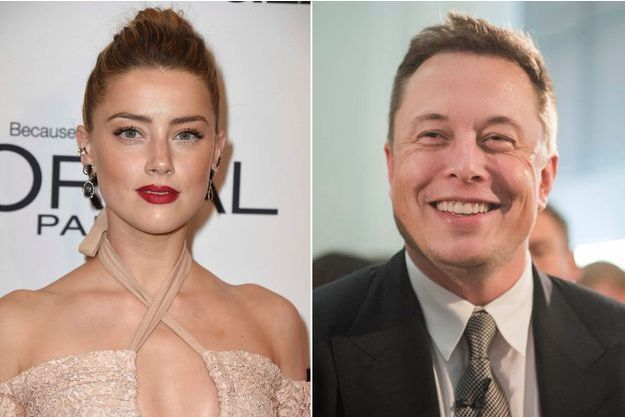 Amber Heard et Elon Musk