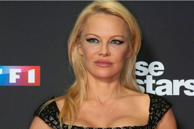 Pamela Anderson en septembre 2018