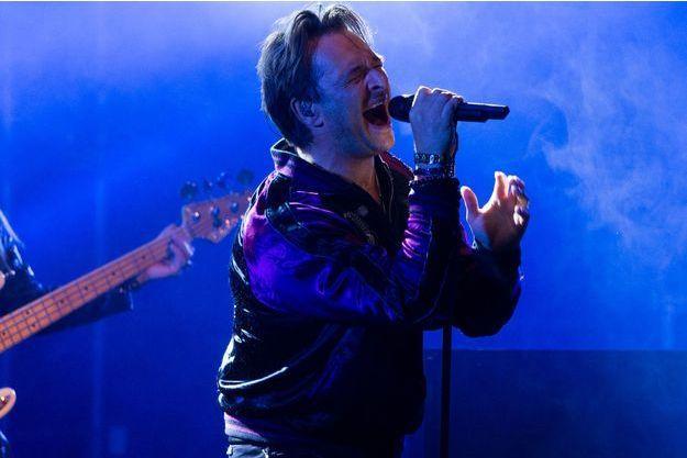 David Hallyday en concert en Belgique en septembre dernier.