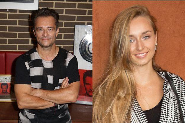 David Hallyday et sa fille Emma Smet