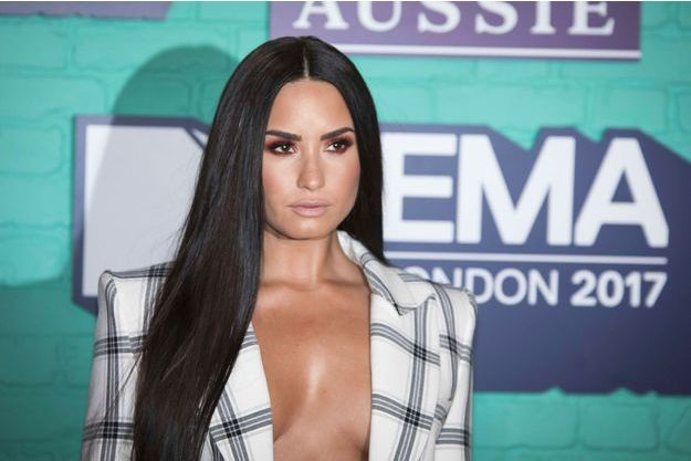 Demi Lovato aux MTV European Music Awards le 12 novembre 2017