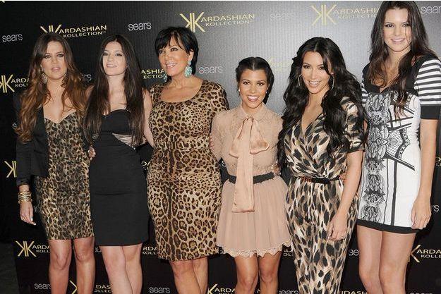 Khloé, Kylie, Kris, Kourtney, Kim et Kendall