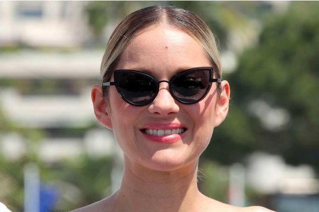 Marion Cotillard à Cannes, le 10 mai 2018