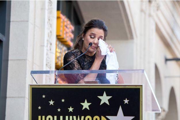 Eva Longoria le 16 avril 2018.