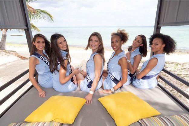 Les miss ont passé l'épreuve à la plage.