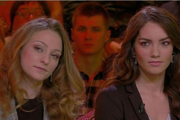 Manon Jean-Mistral et Carla Bonesso.