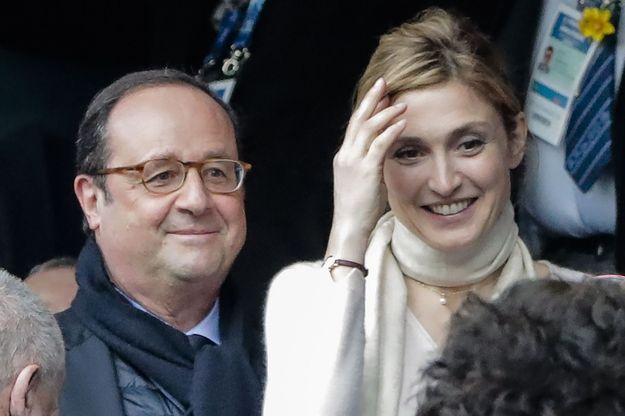 François Hollande et Julie Gayet en mars 2018.