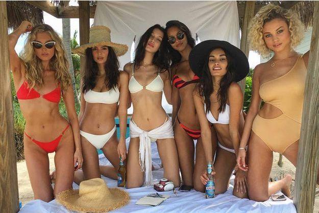 Les tops ont posté des photos mettant en avant l'ile paradisiaque qui devait accueillir le Fyre Festival.