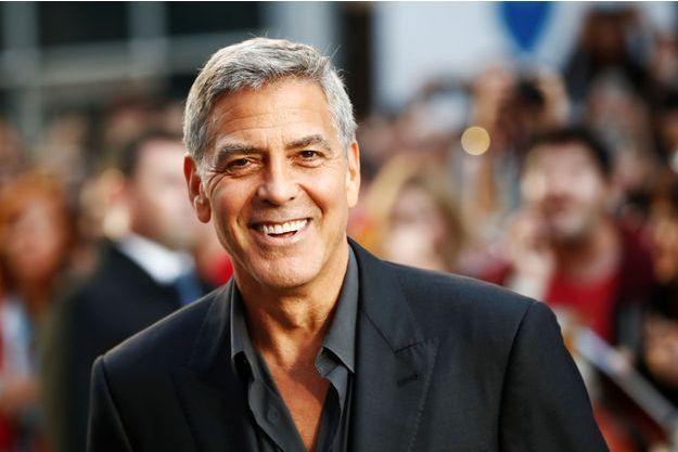 George Clooney, le 9 septembre 2017 à Toronto.