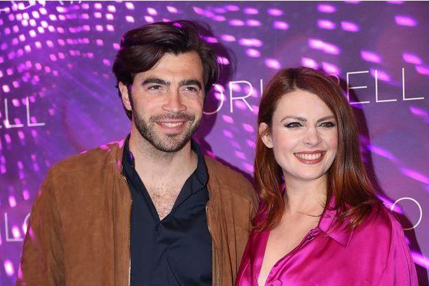 Gian Marco Tavani et Élodie Frégé à Paris, le 15 avril 2019