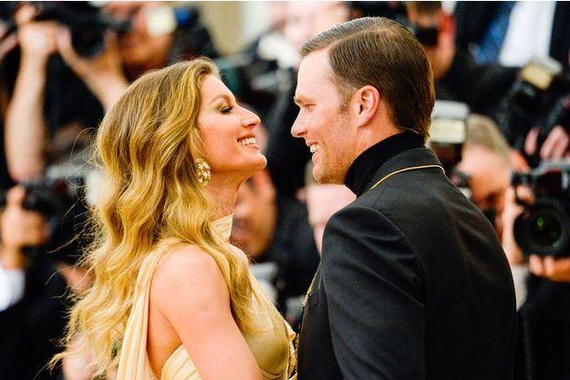 Gisèle Bündchen et Tom Brady au Met Gala le 7 mai 2018