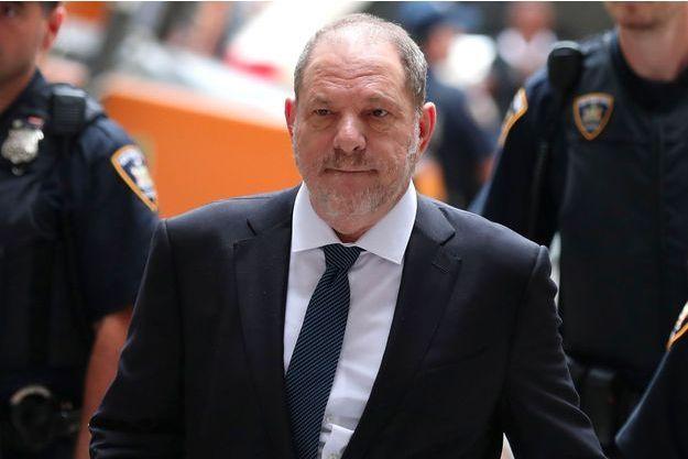 Harvey Weinstein arrive au tribunal de New York le 11 octobre 2018