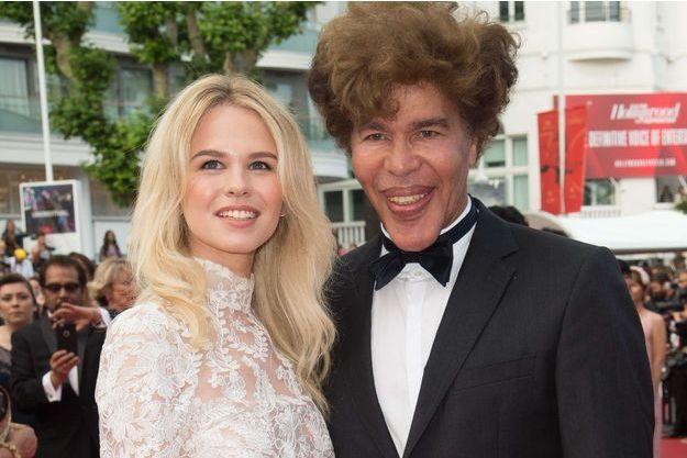 Igor Bogdanov et Julie Jardon à Cannes, mai 2017.