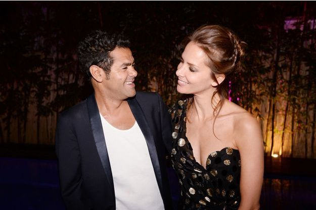 Jamel Debbouze et Melissa Theuriau à Marrakech, en juillet 2017.