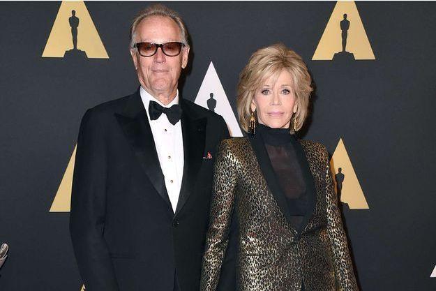 """Jane Fonda face à la mort de son frère Peter : """"Je suis très triste"""""""