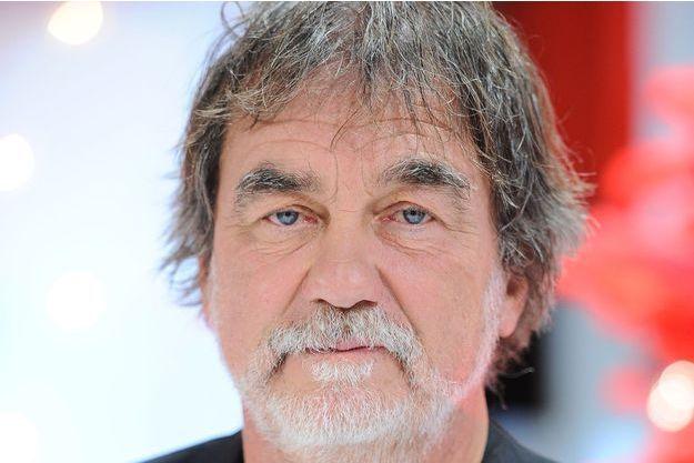 """Olivier Marchal sur le plateau de """"Vivement Dimanche"""" en novembre dernier."""