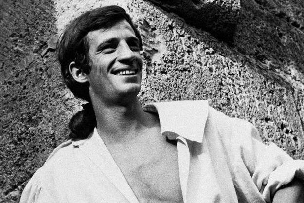 Jean-Paul Belmondo en 1960.