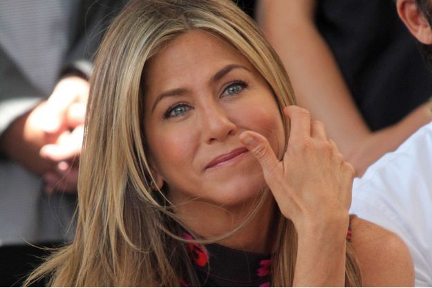 Jennifer Aniston à Hollywood en juillet 2017.