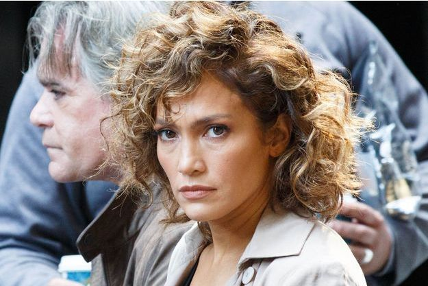"Jennifer Lopez sur le tournage de ""Shades of blue"""